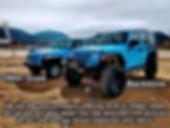 Jeep rental compare Estes Park Colorado