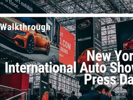 New York International Auto Show 2018 Press Day