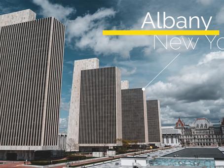 衝出紐約 二十四小時快閃紐約州首府 雅賓利 - Albany