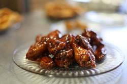 Honey-Glazed BBQ Wings