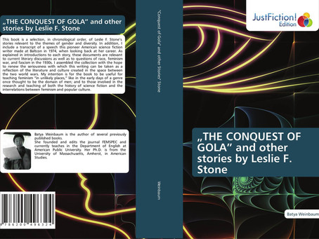 """Relevant Release: """"The Conquest of Gola"""" and Other Stories by Leslie F. Stone"""