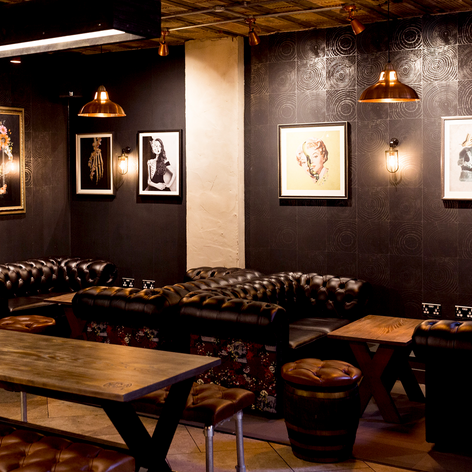 More seating in the main bar