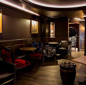The speakeasy in the Mezzanine bar