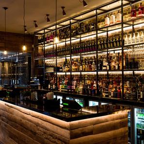 The distillery bar
