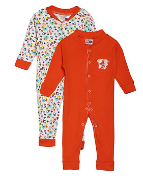 Baby Sleep suit | Red Cherry