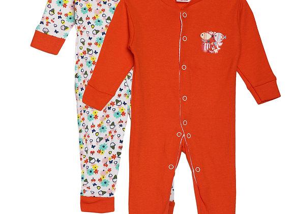 Baby Sleep suit | Red Cherry
