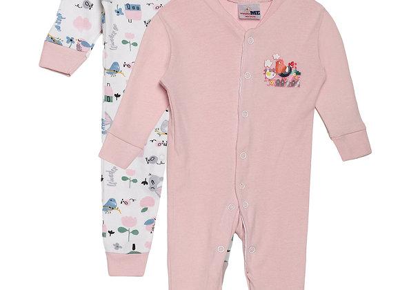 Baby Sleep suit | Pink