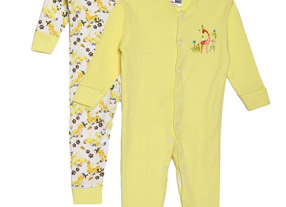 Baby Sleep suit | Yellow