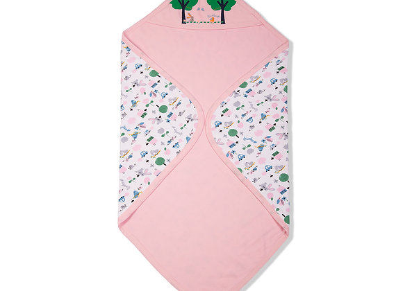 Double Layer Baby Towel | Pink | WonderME