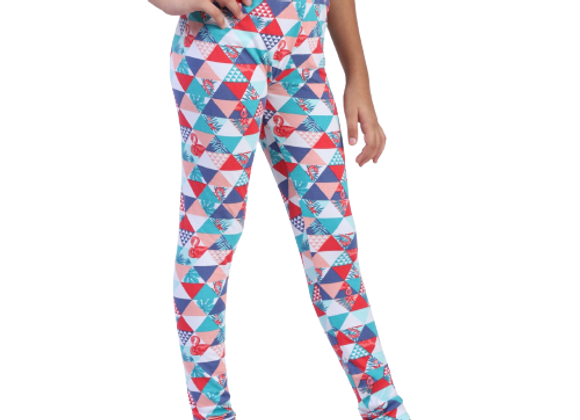 Girls Leggings   Triangle print   WonderME