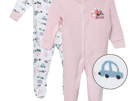Baby Full suit | Pink