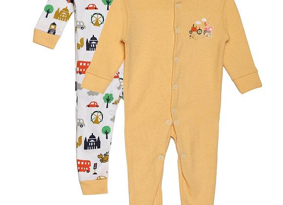 Baby Sleep suit | Orange