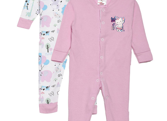 Baby Sleep suit | Lilac