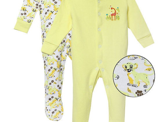 Baby Full suit | Yellow | WonderME