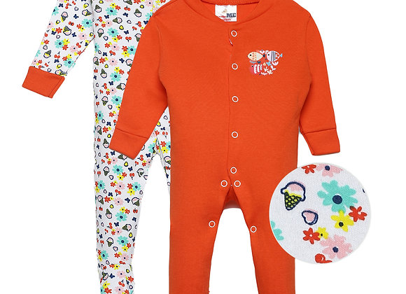 Baby Full suit | Red Cherry