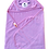 Thumbnail: Double Terry Towel with Character Hood | WonderME
