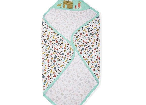 Single Layer Baby Towel | Aqua