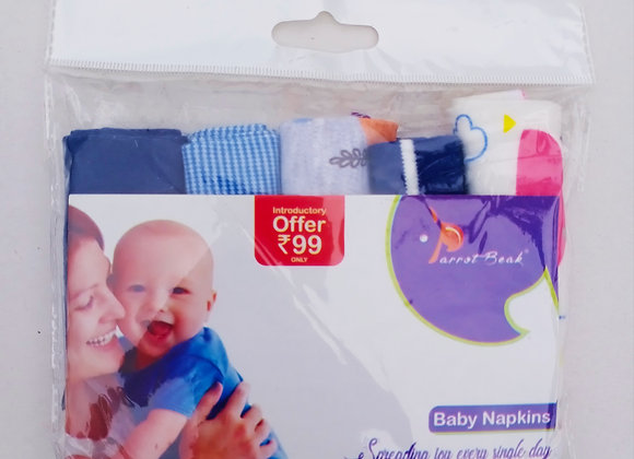 Baby Wipe Towel | 5 Pcs Pack | Parrot Beak | WIP1