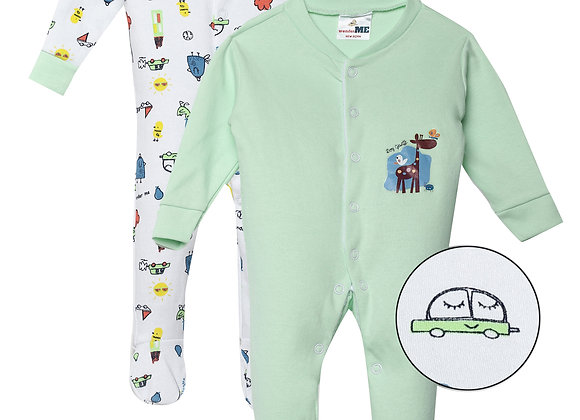 Baby Full suit | Green Meadow