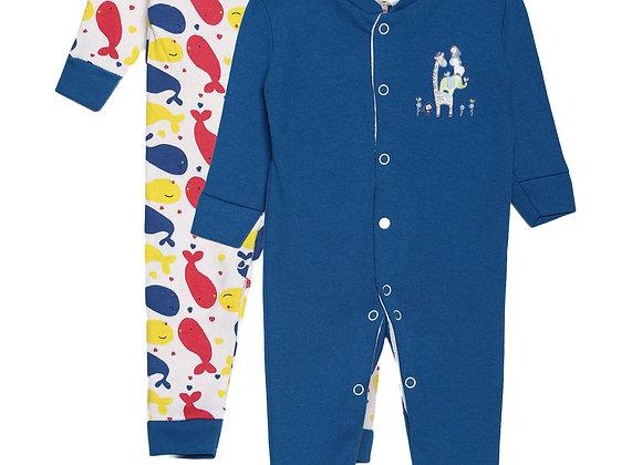 Baby Sleep suit | Snorkel Blue