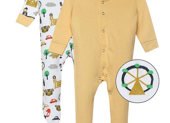 Baby Full suit | Orange | WonderME