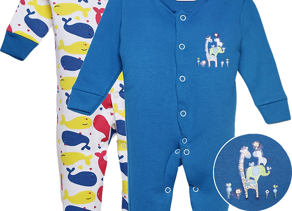 Baby Full suit | Snorkel Blue