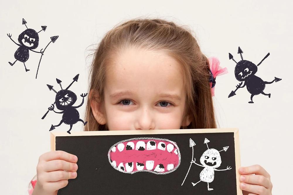 1. 歯にできる黒い点は虫歯なの?