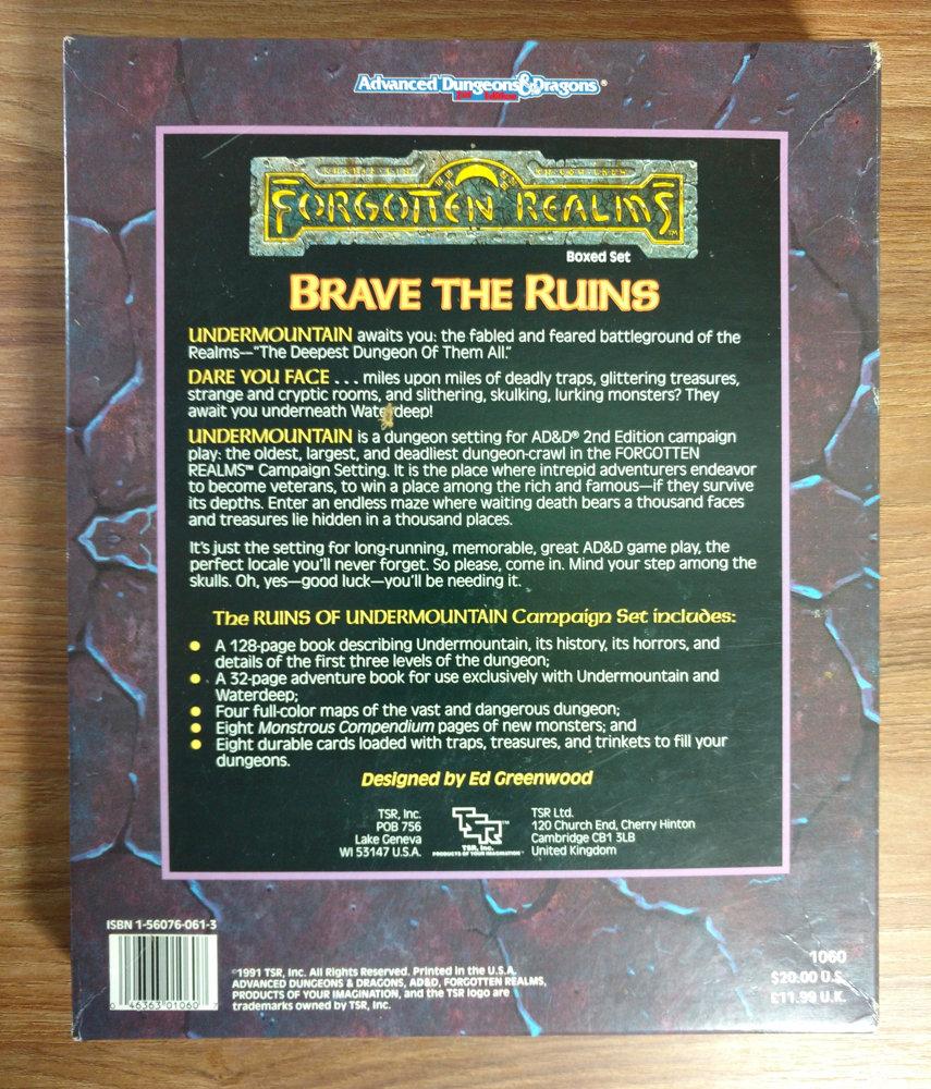 The Ruins of Undermountain (Box Set)
