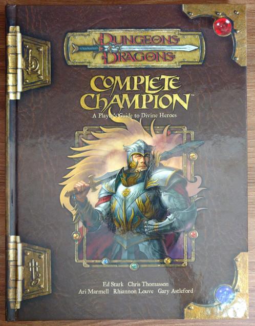 Complete Champion Livros De Rpg Bela Lou Store