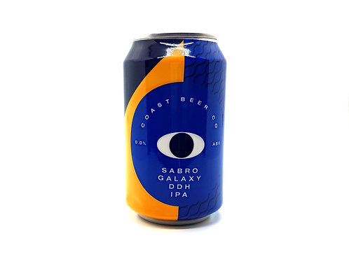 COAST BREW CO - Sabro Galaxy DDH IPA 0%