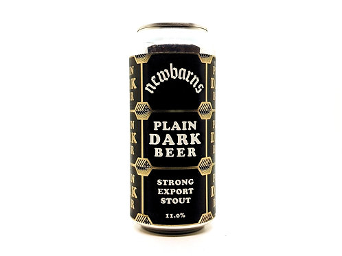 NEWBARNS - Plain Dark Beer 11%