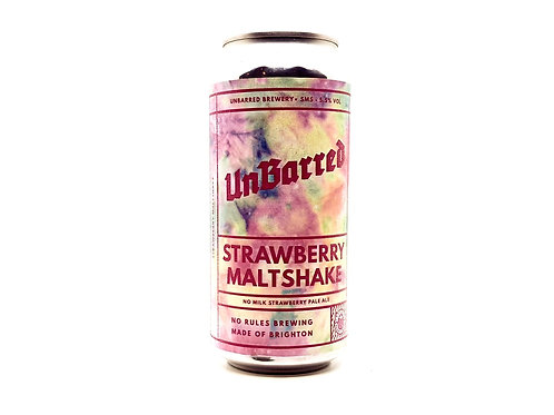 UNBARRED - Strawberry Maltshake 5.5%