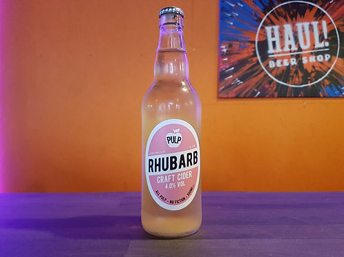 PULP - Rhubarb Craft Cider 4%