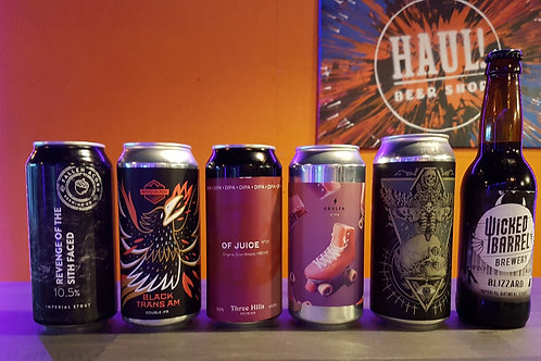 HAUL! Super Strength Case! Mixed Case of 6 Strong Stouts & IPA's!