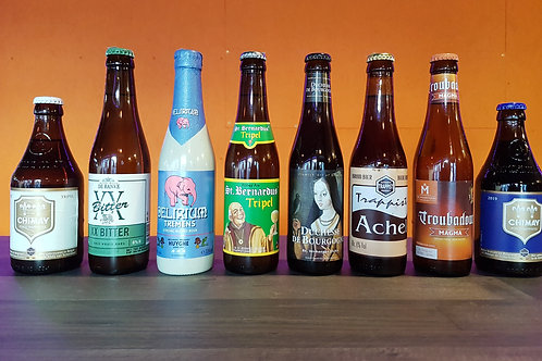 BELGIAN HAUL! A Style Case of 8 Beers