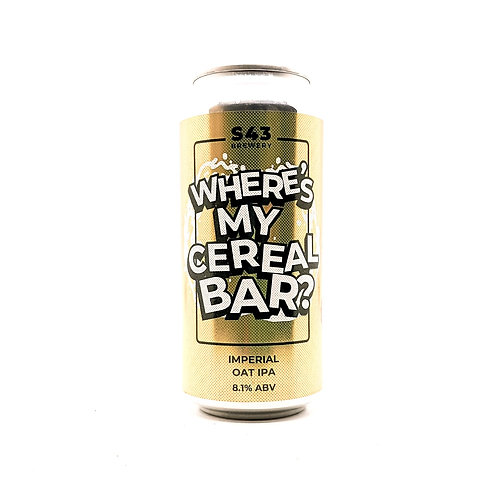 S43 - Where's My Cereal Bar? 8.1%
