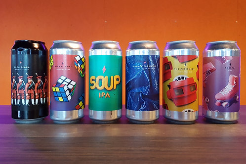GARAGE HAUL! Brewery Case of 6 Beers