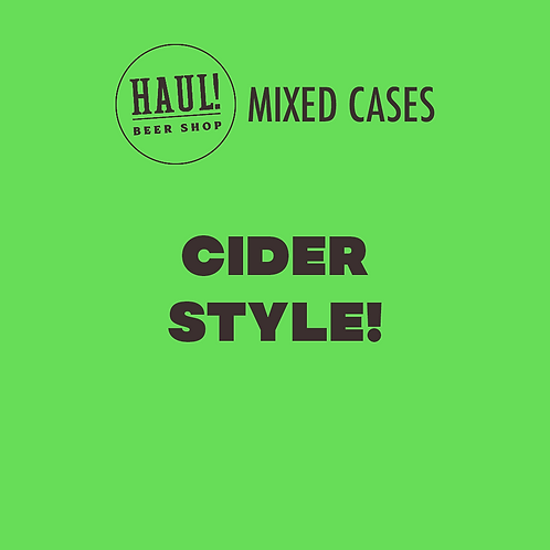HAUL! CIDER STYLE - Case of 6 ciders