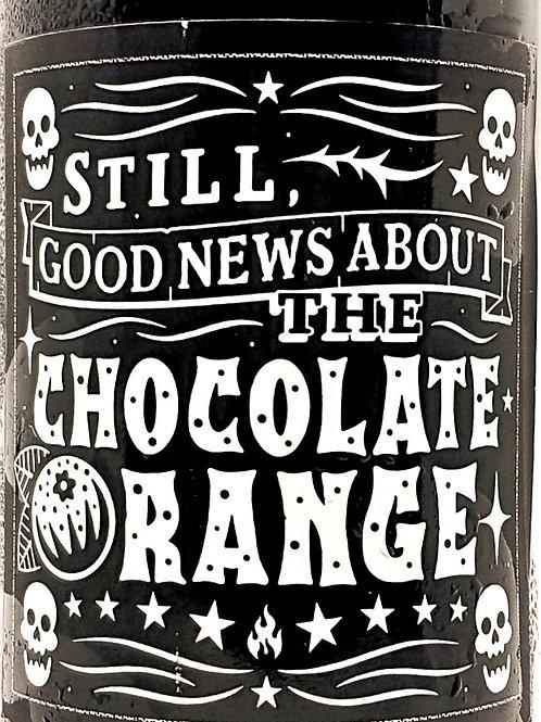 BLACK IRIS -Still, Good News About The Chocolate Orange 12.4%