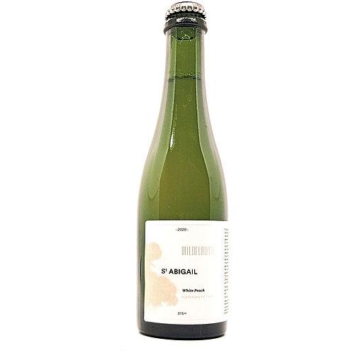 WILDFLOWER BREWING & BLENDING - St Abigail White Peach Wild Ale 5.9%