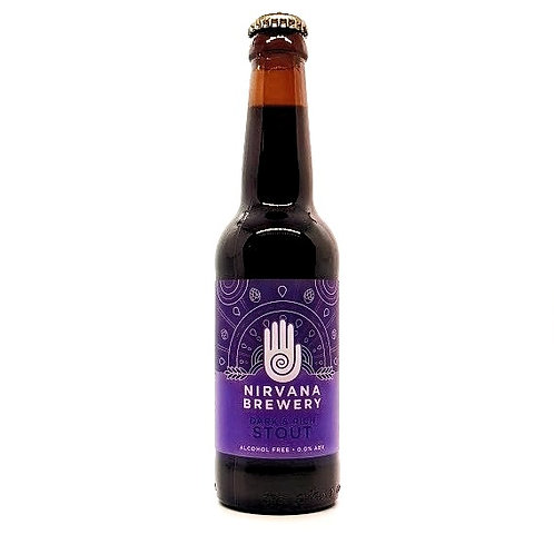 NIRVANA BREWERY - Dark & Rich Stout - Alcohol Free