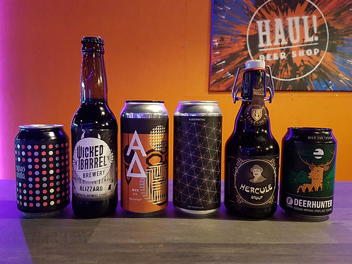 STOUT & PORTER HAUL! Style Case of 6 beers