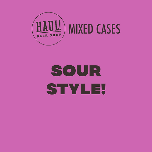 HAUL! SOUR STYLE - Case of 6 beers