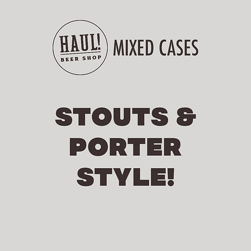HAUL! STOUTS & PORTERS STYLE - Case of 6 beers