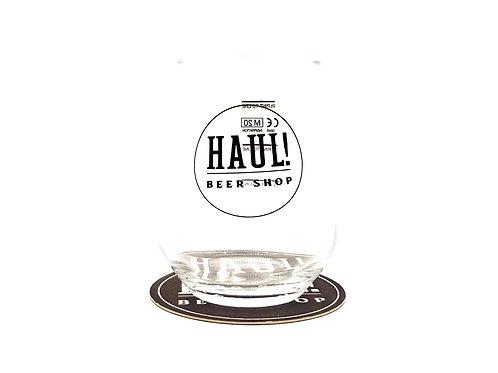HAUL! Beer Glass