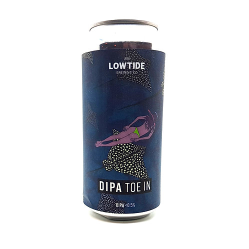 LOWTIDE BREWING CO - DIPA Toe In 0.5%