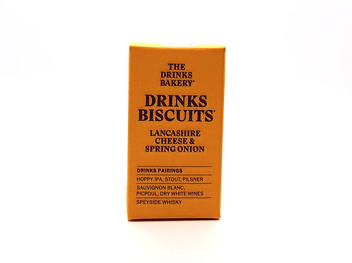 DRINKS BAKERY - Drinks Biscuits Lancashire Cheese & Spring Onion