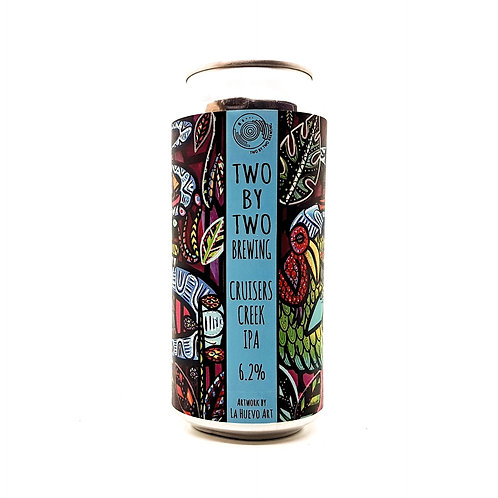TWO BY TWO BREWING - Cruisers Creek IPA - 6.2%