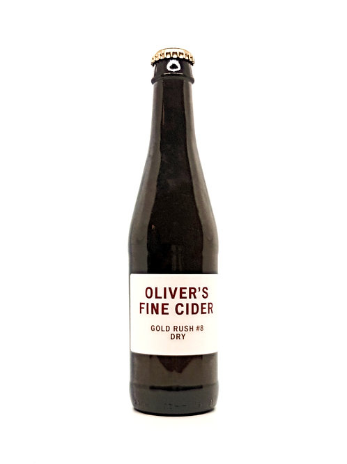OLIVERS FINE CIDER - Gold Rush #8 Dry - 6.5%