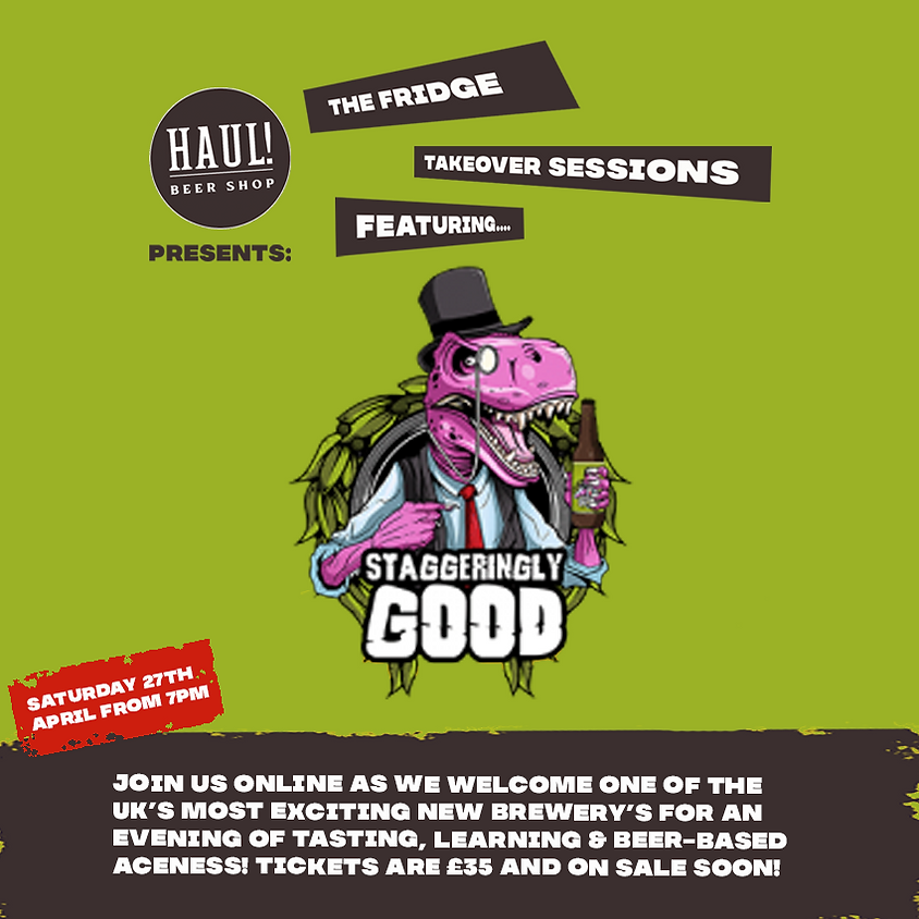 The Fridge Takeover Sessions featuring Staggeringly Good!